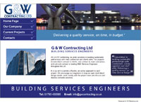The G & W Contracting Ltd website