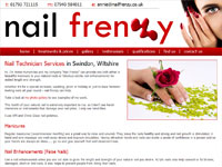 Nail Frenzy website
