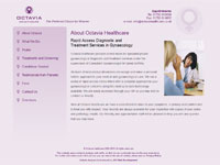 Octavia Healthcare website