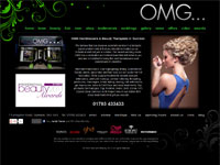 OMG Hair and Beauty website