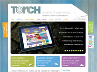 Torch Design website
