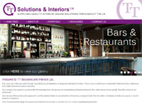TT Solutions & Interiors website